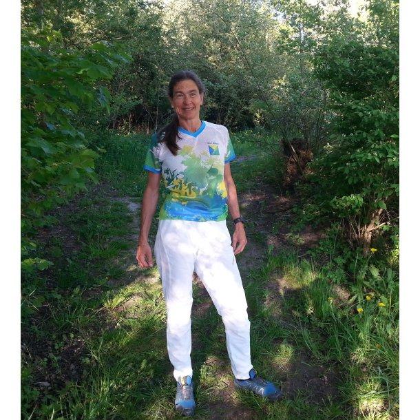 Let sommer O-løbs buks i hvid