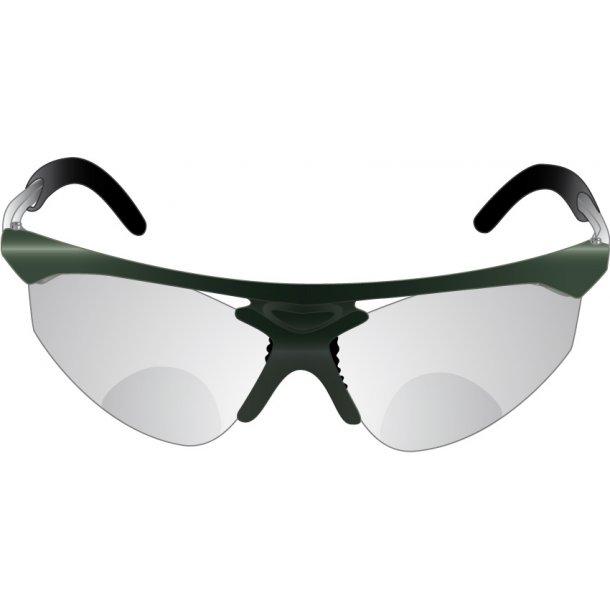 GLAS TIL Sportsbrille Klassisk - KUN GLAS - et sæt