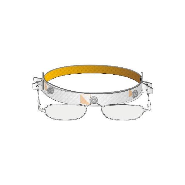 Læsebrille på rem(elastik)